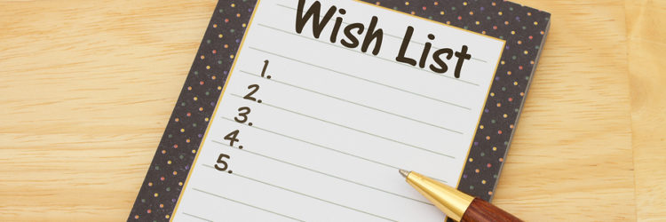 Your Home Wish List